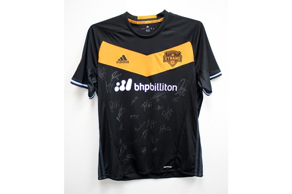 Team signed Houston Dynamo Jeresey